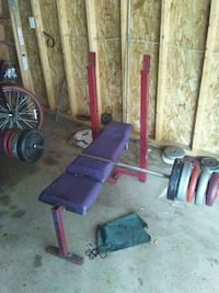 Weight bench and weights Rockford, 61109