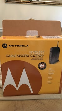 Motorola wireless cable modem gateway Fairfax, 22030