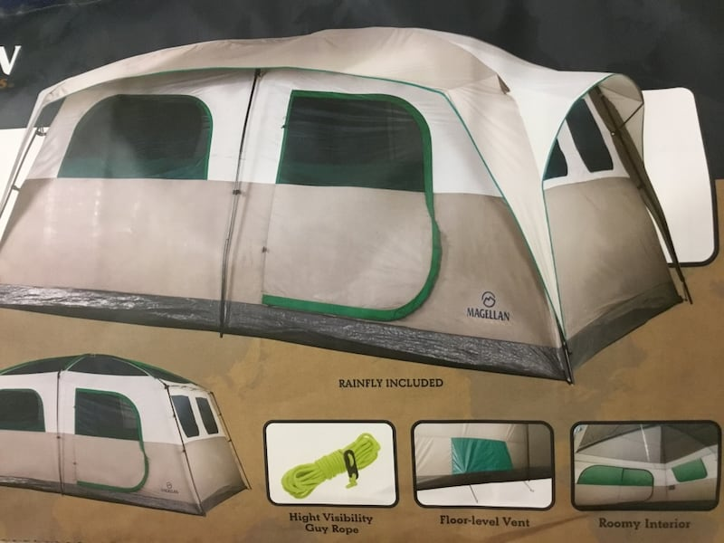 Brand new, Magellan Outdoor Castlewood Tent 12 x 14 Ft, sleeps 12 6d0272f9-bc18-4401-9b91-604e6a43baad