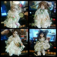 doll in white and green dress collage Junction City, 66441