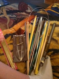 Lots of knitting needles  Archdale, 27263