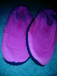 Hot pink swim shoes  Washington, 20011