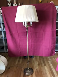 Stiffel brass floor lamp