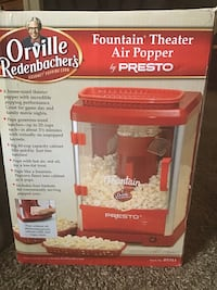 red and black Nostalgia Electrics popcorn maker box Suitland, 20746