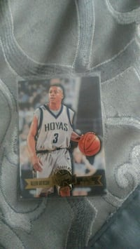 Allen Iverson Rookie card East Providence, 02914