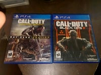 two Sony PS4 game cases El Paso, 79907