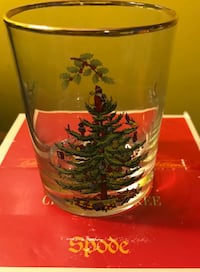 Set of 4 Spode Christmas Glasses ! Chicago, 60660