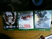 Xbox one games 20$ each Antelope, 95843