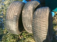 205 65 r15 tires. 80 for all 3 Ferndale, 12734