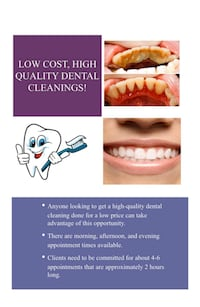 Dental cleaning  Mississauga