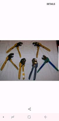 Hand held ratcheting crimpers Tinley Park, 60487