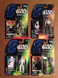 four Star Wars action figure packs Omaha, 68154