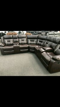 black leather sectional sofa screenshot Temple City, 91780