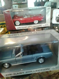 two classic convertibles die-cast models in boxes Kearneysville, 25430