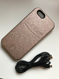 Rose Gold Lumee iPhone 6 Case (Used) + Charger!  St. Catharines
