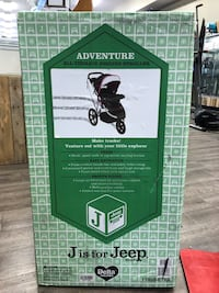 I is for Jeep Brand All Terrain Jogging Stroller. Brand new - Berry Tracks Syracuse, 13206