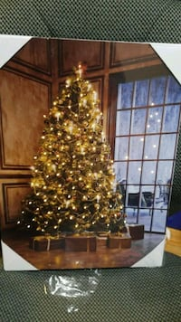 LED canvas Christmas picture Kitchener, N2H 3M8