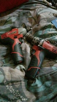 red and black Milwaukee cordless power drill Wilton, 95693