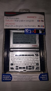 FRANKLIN  FRENCH - English TALKING  dictionary Pickering
