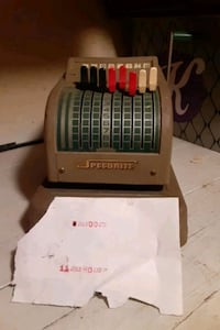 Speedrite  money order machine