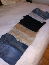 8 pair of Boys Size 10 Jeans