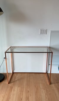 Rose gold console table Toronto, M6A 0B5