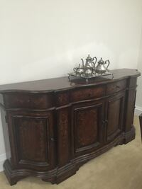 Used Z Gallerie Dining Table Chairs And Buffet For Sale In New York