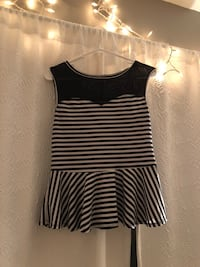 Black and white Charlotte Russe top Omaha, 68137