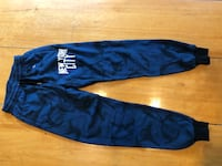 blue camouflage sweatpants brand new size xsmall small   Langley, V2Z