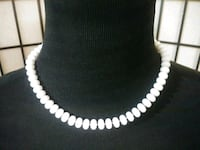 Simple White Costume Necklace San Jose, 95121