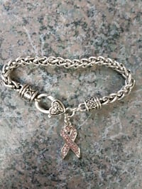 Cancer Ribbon bracelet