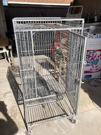 Metal bird cage  conditioned for small or big bird Norwalk, 90650