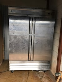 Gray and black commercial refrigerator Baltimore, 21220