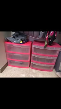 Pink Plastic Dressers Fort Myers, 33965
