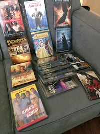 Movies (BlueRay and DVD)