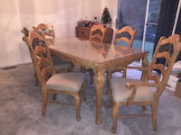 Dining table, chairs, and buffet  Montgomery Village, 20886