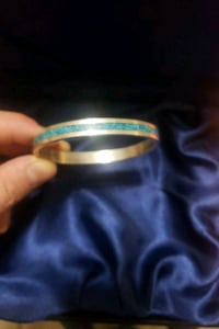 Vintage turquouse Silver bangle