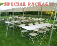 Tables and chairs for rent La Puente, 91746
