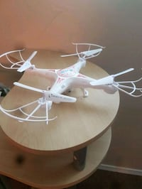 white and pink quadcopter drone Brandon, R7B 2T4