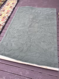 Great area rug 5 x 8 moss color Jersey City, 07307