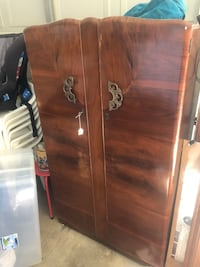 Antique wood wardrobe  Las Vegas, 89139