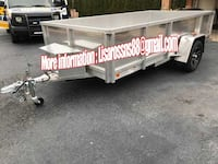 Low use  Aluminum 6x12 Trailer perfect condition.