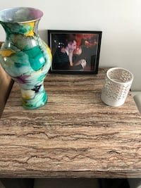 Faux Marble Chic Coffee and End Table Toronto, M9W 0C8