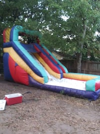 17' commercial blow up water slide