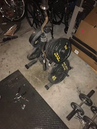 Golds Gym Olympic Weight set Las Vegas, 89129