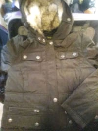brown and black parka jacket San Francisco, 94109