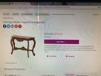 Dordogne Marble topped Console table Kissimmee, 34744