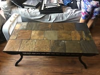 Metal and Stone tile coffee and end table  Santa Maria, 93455