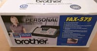 Brother Plain Paper Fax, New/Sealed Vallejo, 94591
