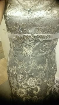 Evening prom dress with shawl  Toronto, M3C 1G7